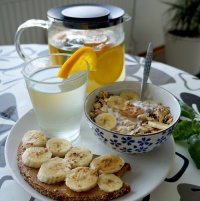 białkowe śniadanie